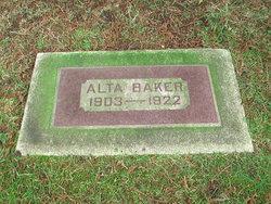 Alta Baker