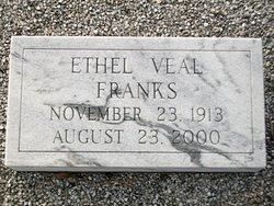 Ethel <i>Veal</i> Franks