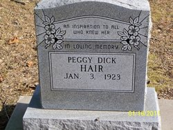 Peggy <i>Dick</i> Hair
