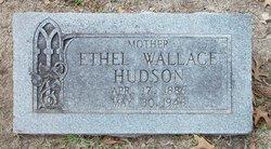 Ethel Georgia <i>Wallace</i> Hudson