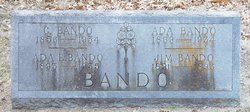 Ada H <i>Bullock</i> Bando