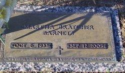 Martha <i>Bratcher</i> Barnett
