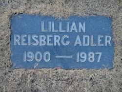 Lillian <i>Reisberg</i> Adler