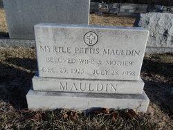 Myrtle <i>Pettis</i> Mauldin