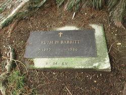 Ruth <i>Schade</i> Babbitt