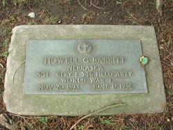 Sgt Howell G. Babbitt