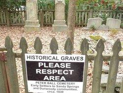 Peter Ball Cemetery