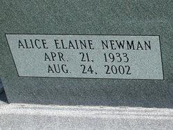 Alice Elaine <i>Newman</i> Blount