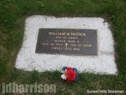 William Marilyn Bill Heisick