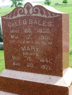 Capt Caleb Edward Bales