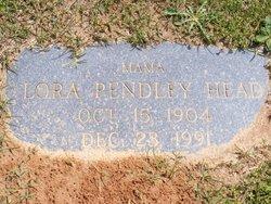 Lora <i>Pendley</i> Head