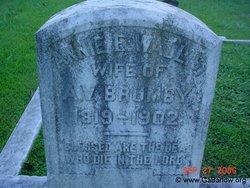 Annie Eliza <i>Wallis</i> Brumby
