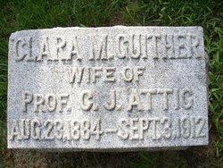 Clara Mary <i>Guither</i> Attig
