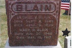 George W. Blain