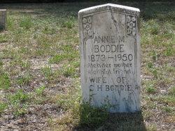 Liddie Annie <i>Murphy</i> Boddie