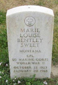 Marie Louise Bentley