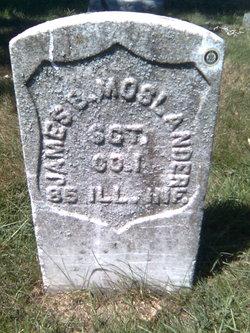 Sgt James B Moslander