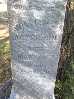 A W Ackerson