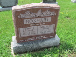 Willetta <i>Roth</i> Boshart