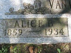 Alice Burnett <i>Persons</i> Van Wormer