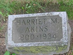 Harriet Matilda <i>Grabill</i> Akins
