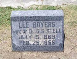 Susan Lee <i>Boyers</i> Stell