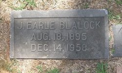 Joseph Earl Blalock