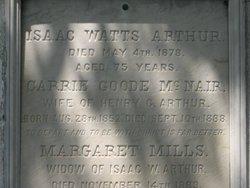 Carrie Goode <i>McNair</i> Arthur