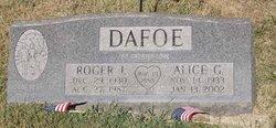 Alice G Dafoe