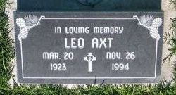 Leo Robert Axt