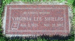Virginia Lee <i>Williams</i> Shields