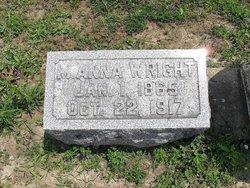 Malinda Anna <i>Henry</i> Wright