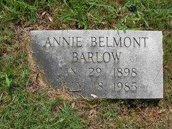 Annie Belmont <i>Watson</i> Barlow