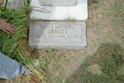 Nancy <i>Arendell</i> Abbott