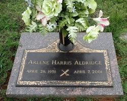 Arlene <i>Harris</i> Aldridge
