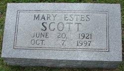Mary <i>Estes</i> Scott