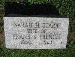 Sarah H <i>Starr</i> French