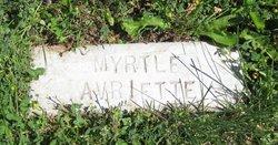 Myrtle Elizabeth <i>Scott</i> Avriette