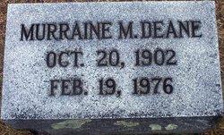 Murraine Allison <i>Mathis</i> Deane