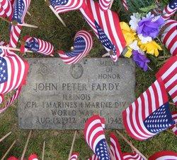 Corp John Peter Fardy
