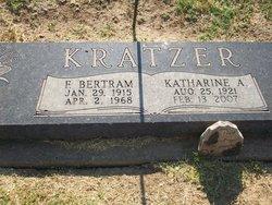 Katharine A <i>Kueser</i> Kratzer