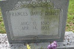 Frances <i>Davis</i> Bailey