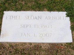 Ethel <i>Sloan</i> Arnold
