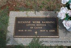 Suzanne <i>Webb</i> Banning