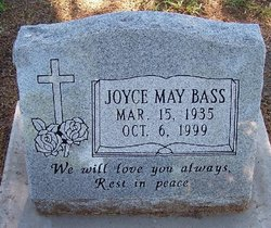 Joyce May <i>Stoughton</i> Bass