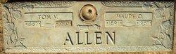 Tom Veston Allen, Sr