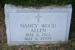 Nancy Cary <i>Wood</i> Allen