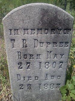 Rev Thomas R Dupree