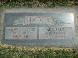 Josephine <i>Turley</i> Hatch