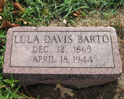 Lula Albertine <i>Davis</i> Barto